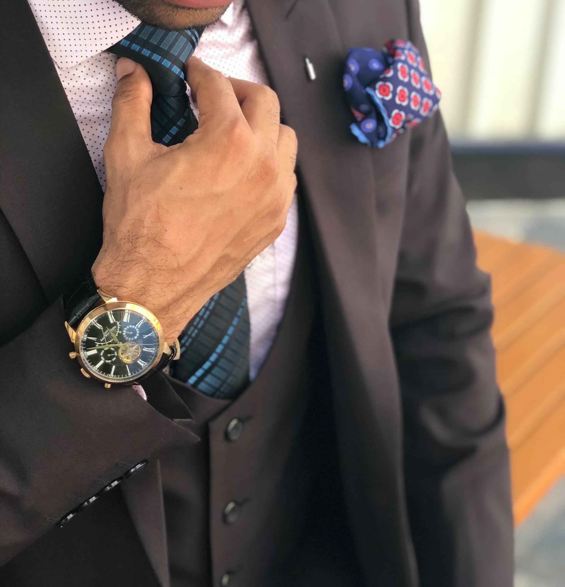 jakkesæt og påklædning