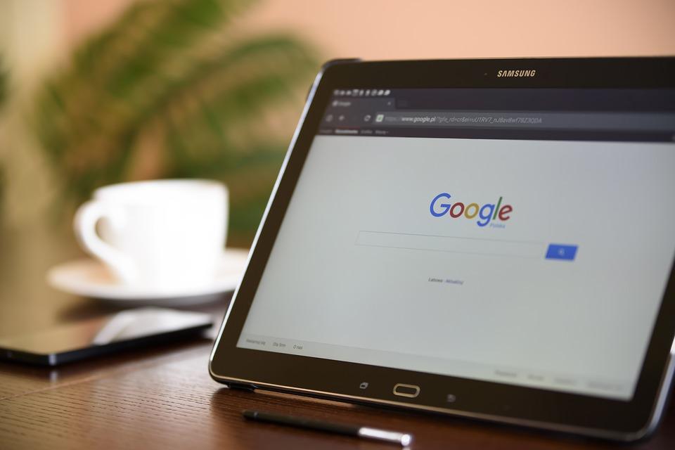 Tablet på Google